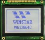 Работа с графическим LCD WG12864C